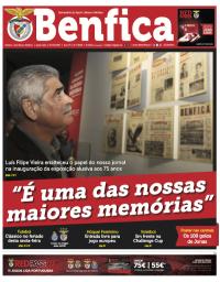 capa Jornal Benfica de 11 dezembro 2017
