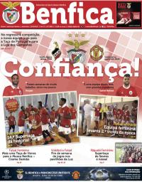 capa Jornal Benfica de 16 outubro 2017