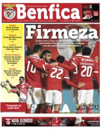 capa Jornal Benfica de 18 dezembro 2017
