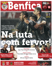 capa Jornal Benfica de 20 janeiro 2018