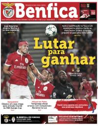 capa Jornal Benfica de 20 outubro 2017