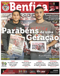 capa Jornal Benfica de 26 novembro 2017