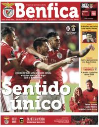 capa Jornal Benfica de 27 janeiro 2018