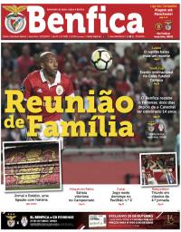 capa Jornal Benfica de 31 outubro 2017