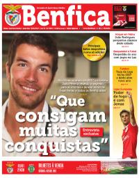 capa Jornal Benfica de 31 dezembro 2017