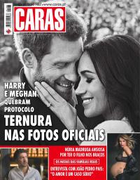 capa Revista Caras de 1 janeiro 2018