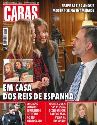 capa Revista Caras de 1 fevereiro 2018