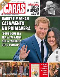 capa Revista Caras de 1 dezembro 2017