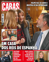 capa Revista Caras de 2 fevereiro 2018