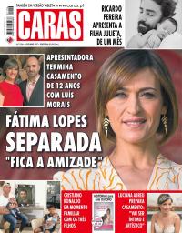 capa Revista Caras de 8 outubro 2017