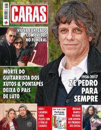 capa Revista Caras de 8 dezembro 2017