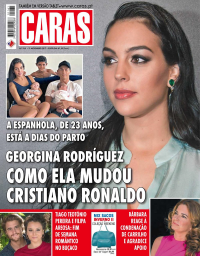 capa Revista Caras de 9 novembro 2017