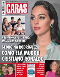 capa Revista Caras de 12 novembro 2017