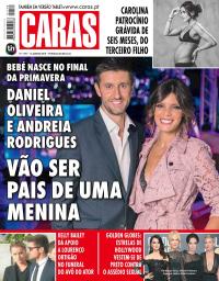capa Revista Caras de 16 janeiro 2018