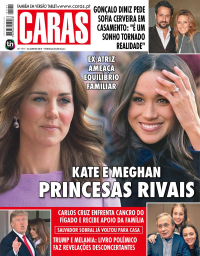 capa Revista Caras de 20 janeiro 2018