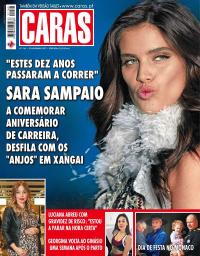 capa Revista Caras de 25 novembro 2017