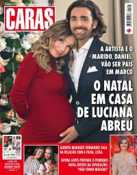 capa Revista Caras de 25 dezembro 2017