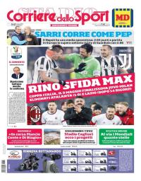 capa Corriere dello Sport de 1 março 2018