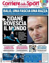capa Corriere dello Sport de 1 junho 2018