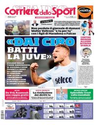 capa Corriere dello Sport de 2 março 2018