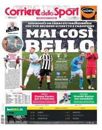 capa Corriere dello Sport de 3 março 2018