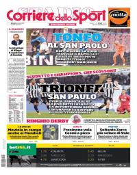 capa Corriere dello Sport de 4 março 2018