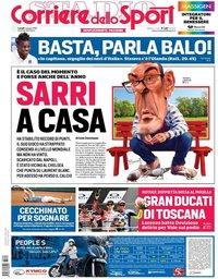 capa Corriere dello Sport de 4 junho 2018