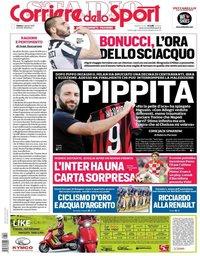 capa Corriere dello Sport de 4 agosto 2018
