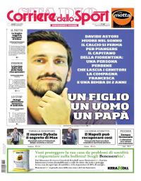 capa Corriere dello Sport de 5 março 2018