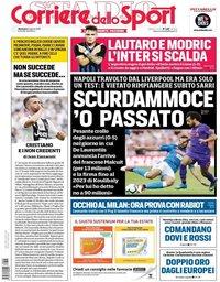 capa Corriere dello Sport de 5 agosto 2018