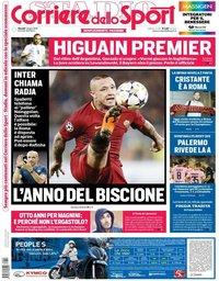capa Corriere dello Sport de 7 junho 2018