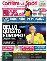 capa Corriere dello Sport de 7 julho 2018