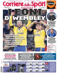 capa Corriere dello Sport de 8 março 2018