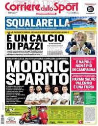 capa Corriere dello Sport de 10 agosto 2018