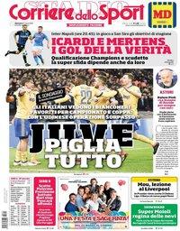 capa Corriere dello Sport de 11 março 2018