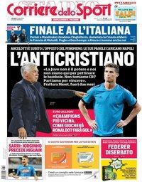 capa Corriere dello Sport de 12 julho 2018