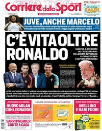 capa Corriere dello Sport de 13 julho 2018