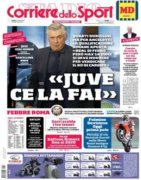 capa Corriere dello Sport de 17 março 2018