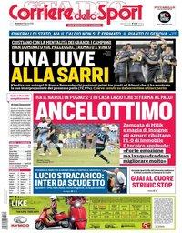 capa Corriere dello Sport de 19 agosto 2018