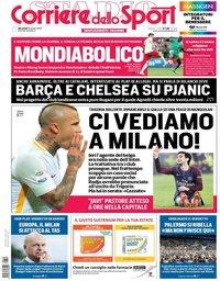 capa Corriere dello Sport de 20 junho 2018