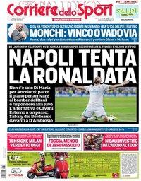 capa Corriere dello Sport de 20 julho 2018