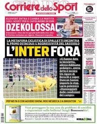 capa Corriere dello Sport de 20 agosto 2018