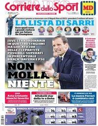 capa Corriere dello Sport de 21 março 2018