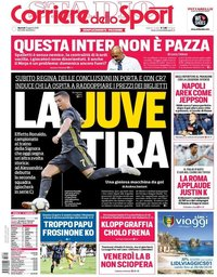 capa Corriere dello Sport de 21 agosto 2018