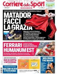 capa Corriere dello Sport de 23 julho 2018