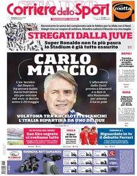 capa Corriere dello Sport de 25 março 2018