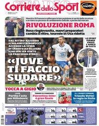 capa Corriere dello Sport de 27 março 2018