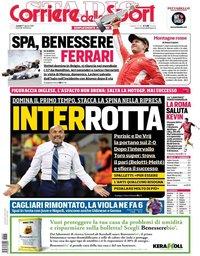 capa Corriere dello Sport de 27 agosto 2018