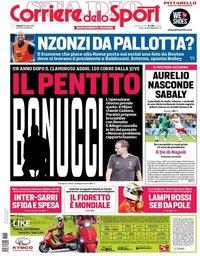 capa Corriere dello Sport de 28 julho 2018