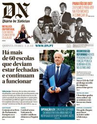 capa Diário de Notícias de 1 fevereiro 2018